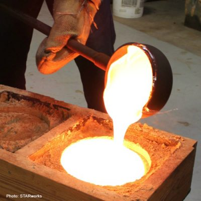Playing with Fire: Sand casting with Jacci Delaney