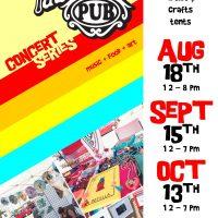 The Pawn Shop Pub Free Art Fair & Concert Series