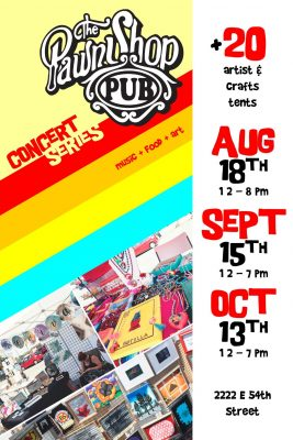The Pawn Shop Pub Free Art Fair & Concert Series