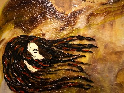 """Full Circle Nine Gallery Features Nicole Staab, """"All Cracked Up"""" for November First Friday"""