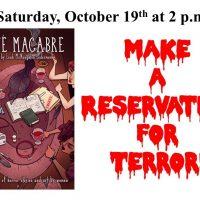Make a Reservation for Terror - Cafe Macabre