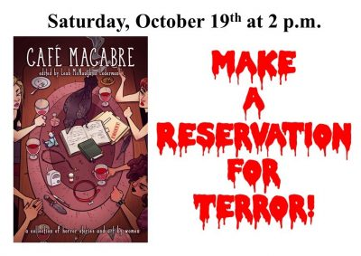 Make a Reservation for Terror - Cafe Macabre
