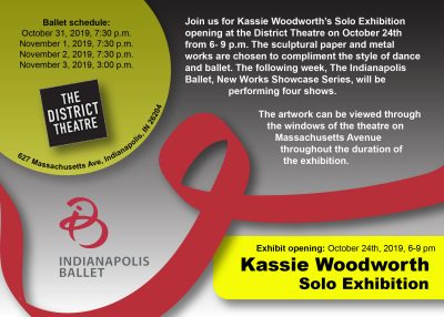 Kassie Woodworth Gallery Opening
