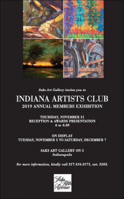 Indiana Artists Club 2019 Annual Members Exhibition