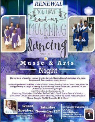 RENEWAL | Music & Arts Night Service