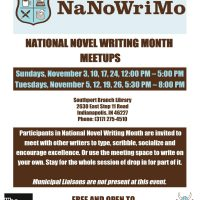 National Novel Writing Month Meetup