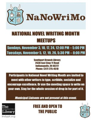 National Novel Writing Month Meetup