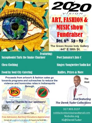 20/20 VISION: Art, Fashion & Music Show Fundra...