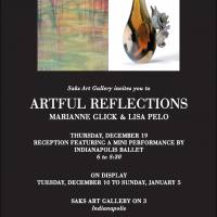 Artful Reflections by Marianne Glick and Lisa Pelo