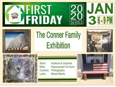 The Conner Family Exhibition @ The Green House Indy