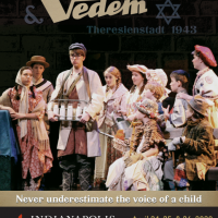 Excerpts from Vedem at Carmel's Holocaust Remembrance Day Ceremony