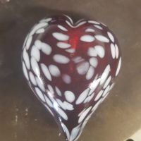 Create a Glass Heart for $50
