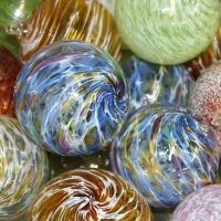 Blow your own Glass Ornament for $45