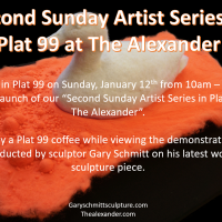 Second Sunday Artist Series at Plat 99 at The Alexander