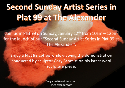 Second Sunday Artist Series at Plat 99 at The Alex...