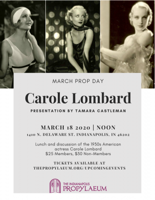 Carole Lombard at the Prop