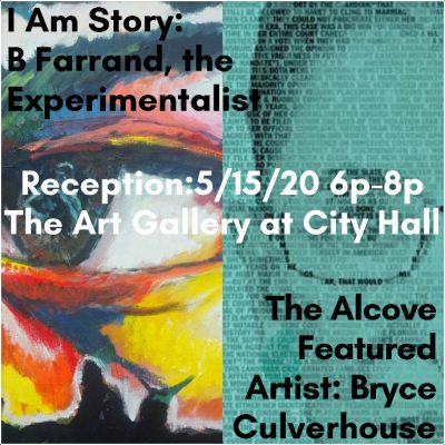 I am Story: B Farrand, the Experimentalist & The Alcove Featured Artist Reception
