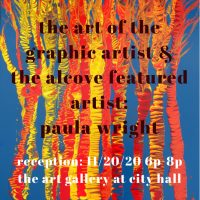 The Art of the Graphic Artist & The Alcove Featured Artist Reception