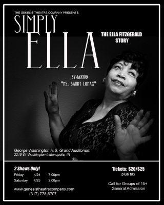 Simply, Ella - The Ella Fitzgerald Story & Tribute -POSTPONED UNTIL AUGUST 2020