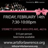 Valentines Day Concert & Dance with the Indianapolis Jazz Orchestra