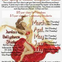 Spring/Summer 2020 Bellydance Classes