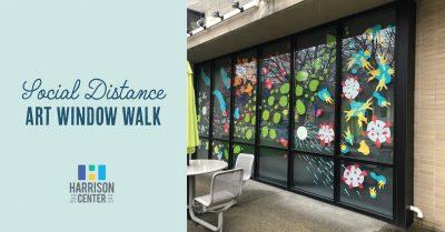 Social Distance Art Window Walk