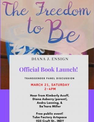 "Author Diana Ensign: ""The Freedom to Be"" Official Book Launch & Panel Discussion!"