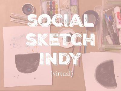 Social Sketch Indy - Virtual