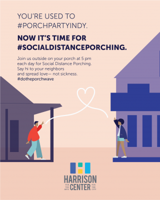 Social Distance Porching