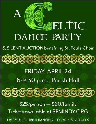 A Celtic Dance Party & Silent Auction