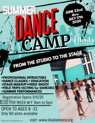 Iibada Summer Intensive