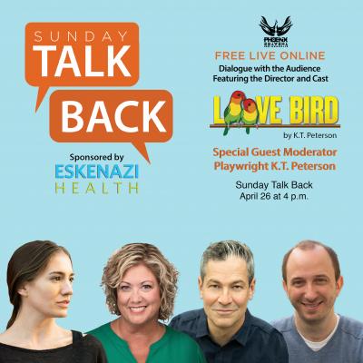 Sunday Talk Back - Love Bird by K.T. Peterson