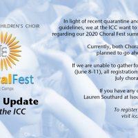 Choral Fest Summer Music Camp