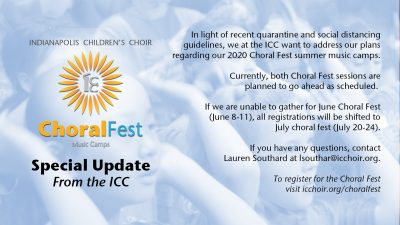 Choral Fest Summer Music Camp