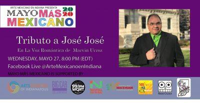 Tributo a José José con Marvin Urroz