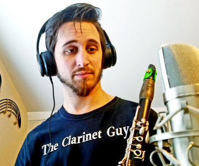 Social Distance Sessions: The Clarinet Guy