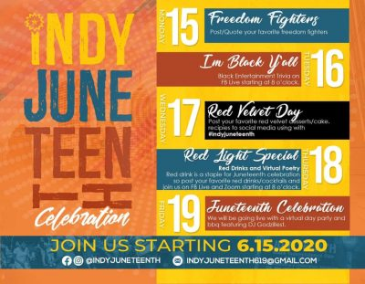 Indy Juneteenth Celebration Week