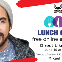 """Lunch Club """"Direct Like a Pro"""" with Mikael Burke"""