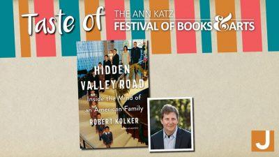 Virtual Taste of the Ann Katz Festival: Robert Kolker