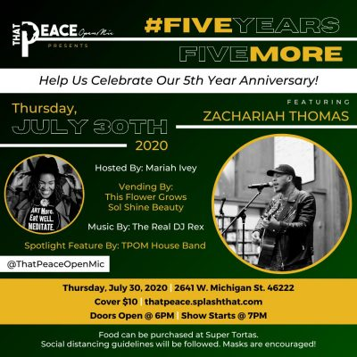 That Peace Open Mic 5th Year Anniversary Show