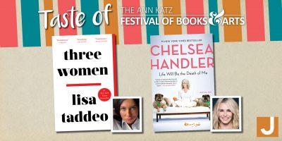 Lisa Taddeo and Chelsea Handler: Virtual Taste of the Ann Katz Festival