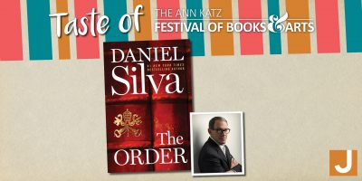 Daniel Silva: Virtual Taste of the Ann Katz Festival