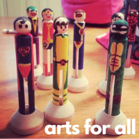 Arts for All Take-Home Kits