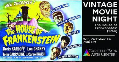 Vintage Movie Night: House of Frankenstein (1944)