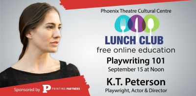 """Lunch Club Free Class """"Playwriting 101"""""""