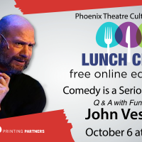 """Comedy is a Serious Business"" Phoenix Lunch Club Series"
