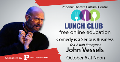 """""""Comedy is a Serious Business"""" Phoenix Lunch Club ..."""