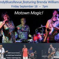 IndyBluesRevue featuring Brenda Williams: Motown Magic!