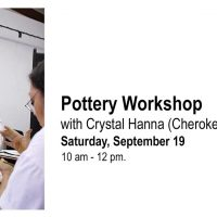 Pottery Workshop with Crystal Hanna