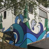 Alice Carter Place Mural